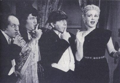 Publicity still from 1945's MICRO-PHONIES