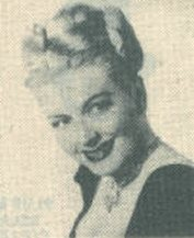 Christine McIntyre headshot from early 1950's