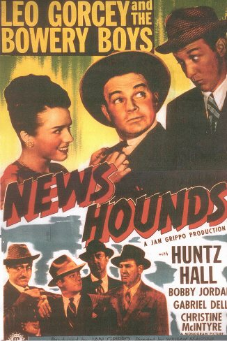 One sheet for 1946's NEWS HOUNDS