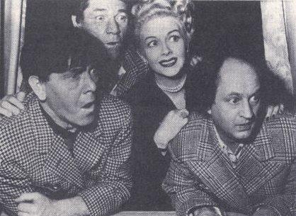 Publicity still from STUDIO STOOPS (1950)